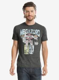 Pulp Fiction Pumpkin Shirt by Mighty Morphin Power Rangers Megazord T Shirt Boxlunch