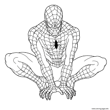 SPIDERMAN COLORING Pages Free Download Printable At Spiderman Coloring Pdf