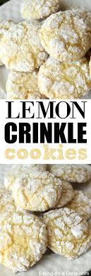 Lemon Crinkle Cookies Lemon Cool Whip Cookies recipe