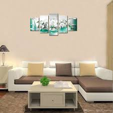 Butterfly Orchid Flower Painting Modern Wall Picture Home Decoration For Living Room Framed Ready To Hang