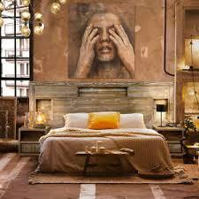 konzept modernes schlafzimmer komplett set im loft stil