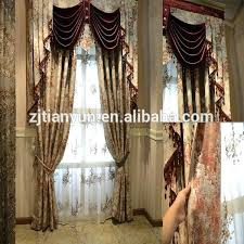 curtain with attached valance intuitiveconsultant me