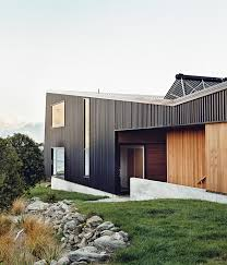 House In New Zealand Designed By Bronwen Kerr And Pete Ritchie Architects