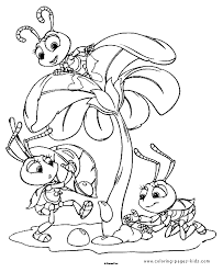 A Bugs Life Coloring Pages Over 6000 Free Printable For Kids