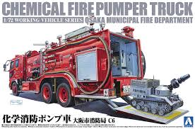 100 Pumper Truck Amazoncom 172 Working Vehicle No1 Chemical Fire Engine