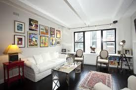 Living Room New York City West Village Loft luxury renovation