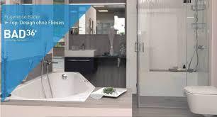 business bad36 bietet fugenlose badezimmer in nur 36