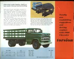 1960 Chevrolet Series 70 & 80 Chassis-Cab Truck Brochure