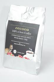 Coffee Grinder Set Civet Kopi Luwak Premium 100 G Arabica Beans