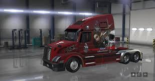 100 Truck Tattoo Volvo VNL 670 Big Mama Skins Mod ATS Mod American