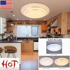 24w led dimmable ceiling light flush mounted fixture kitchen