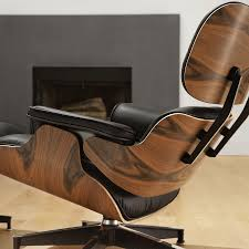 Herman Miller Eames Lounge Chair And Ottoman   Office ... 12 Things You Didnt Know About The Eames Lounge Chair Why Are The Chairs So Darn Expensive Classic Chair Ottoman White With Black Base Our Public Bar Hifi Wigwam Vitra Walnut Black Pigmented Lounge Chair Armchairs From Architonic Version Pigmentation Nero 84 Cm Original Height 1956 Alinium Polished Sides Conran Shop X Departures Magazine