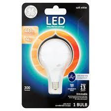ge led 4w 300 lumens a15 soft white candelabra base bulb walmart