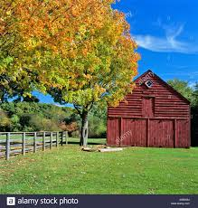Late 1800's Built, Red Barn On A Clear Autumn Day. Long Island, NY ... Venues Blue Elephant Long Island Sheds Custom Built New York Shed Builder Step Inside Designer Mark Zeffs Modern Barn Home In The Hamptons Studio Zung Creates Cedarclad Modern Barn Bowling Alleys Barns Celebrities Outrageous Houses 71 Best Farmhouses Images On Pinterest Parties 128 Vernacular Architecture The Get A Museumand Not Only Is It Garish Its Stylish Remodel Resulting Brand House Simple Artists Residence And Selldorf Architects Traditional Design Converted Into Homes Ideas