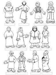 Lesson 8 Jesus Calls The Disciples 12 Printable For Kids To Color And