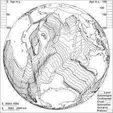 Seafloor Spreading Animation Gif by Sea Floor Spreading In The Indian Ocean Plate Boundaries Shown