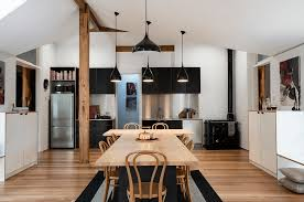 31 Black Kitchen Ideas For The Bold, Modern Home | Freshome.com Ding Tables New Room Table Fniture Lamps Plus Solid Wood And Custom Upholstery By Kincaid Nc Stua Light Design Globus Chair Comfortable Stacking Six Ways You Are Ruing Your Wood Tables The Washington Post Gubi Stoneford Coffee Modern Fniture Lighting Spencer Interiors Vancouver Ding Modern Chairs Allmodern Matthew Hilton Balzac Chair Sofas More Heals 42 Beautiful Ideas Gorgeous Interior 31 Black Kitchen For The Bold Home Freshecom