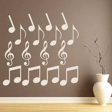 wandtattoos wandbilder violinschlüssel wandtattoo