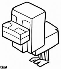 Minecraft Coloring Pages Animals Zombies Steve Creepers Etc