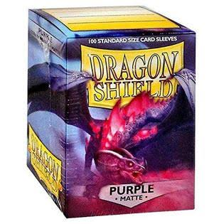 Dragon Shield Matte Purple - 100 Pieces
