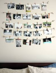 Cute Cheap Way To Displays All Of Our Wedding Photos