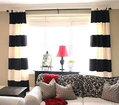 Black Window Curtains Target by Black And White Window Curtains U2013 Teawing Co