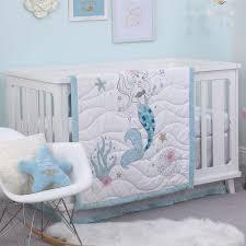 baby crib bedding set by disney ariel sea princess