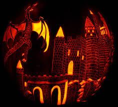 Disney Castle Pumpkin Pattern by Dragon Castle818 Jpg