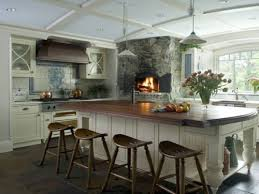 Cool White Kitchens With Dark Floors