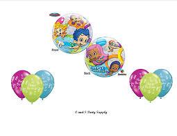 Bubble Guppies Bathroom Decor by Amazon Com Bubble Guppies Birthday Party Balloons Decorations