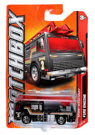 100 Black Fire Truck Amazoncom Matchbox MBX Highway Engine Ladder