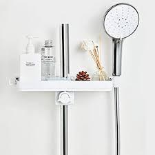 zosuo duschablage für die duschstange ohne bohren badezimmer