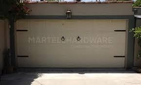 Agave Ironworks Wrought Iron Garage Door Hardware Kits