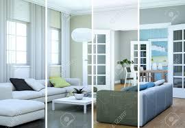 100 Modern Loft Interior Design Stock Illustration