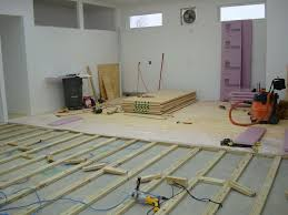 Wood Floor Leveling Contractors by How To Install A Plywood Shop Floor The Wood Whisperer