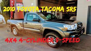 100 Toyota 4 Cylinder Trucks 2010 Tacoma SR5 X Regular Cab 5 Speed SOLD