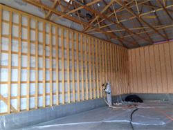Sheaffer Spray Foam Pole Barn Insulation Strasburg PA