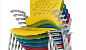 Herman Miller Caper Chair Colors by Colourful Office Chairs Inspirational Caper Stacking Chair