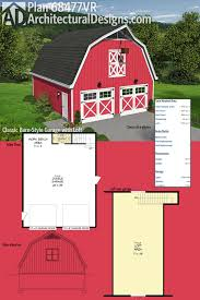 100 Barn Apartment Designs Plan 68477VR Classic Style Garage With Loft Garage And
