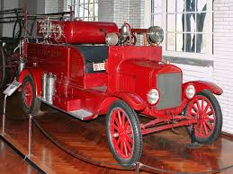 100 Model T Fire Truck Cars 1926 Ford Ruck With American LaFrance Equipment