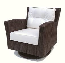furniture wonderful rattan swivel rocker for style chair