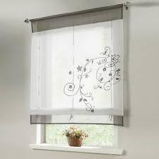 details zu raffrollo raffgardinen weiß küche gardinen wohnzimmer fenstergardine modern grau
