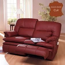 canapé relax 2 places électrique canapé 2 places de relaxation version électrique privilège