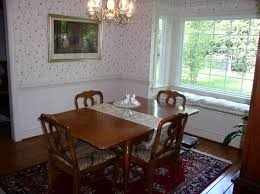 Classy Home Interior Design And Decoration With Bay Window Seat Ideas Attractive Dining Room