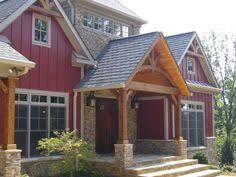 House Plans Farmhouse Colors Red House Brown Trim Google Search Red House Brown Trim