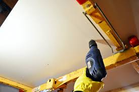 Hanging Drywall On Ceiling Or Walls First by How To Hang Drywall Young House Love