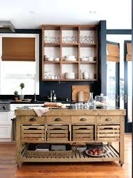 Kitchen Island Movable Portable And Luxury Small Slider Drawers In Industrial Design