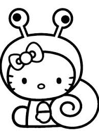 Coloriages Images Hello Kitty Coloring Pages On Pinterest