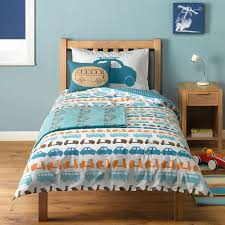 Buy Little Home At John Lewis Here There And Everywhere Cars Duvet Cover Set Online