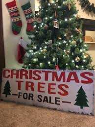 Christmas Tree Sign Trees For Sale DIY Farm Fixer Upper